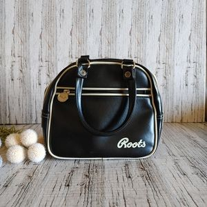 ROOTS   Vintage Inspired Bowling Bag Purse